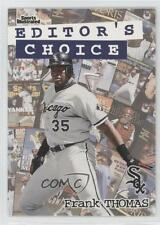 1998 Fleer Sports Illustrated Editor's Choice 3EC Frank Thomas Chicago White Sox
