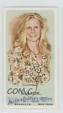 2010 Topps Allen & Ginter's Minis Ginter Back 9 Kelly Kulick Boston Red Sox Card