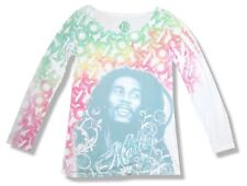 Bob Marley One Love Sublimation Girls Juniors Long Sleeve Shirt New Official