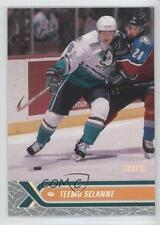 2000 Topps Stadium Club #13 Teemu Selanne Anaheim Ducks (Mighty of Anaheim) Card