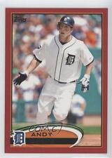 2012 Topps Target Red Border #644 Andy Dirks Detroit Tigers Baseball Card