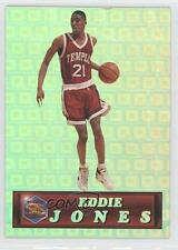 1994 Pacific Crown Collection Prism Gold #25 Eddie Jones Temple Owls Rookie Card