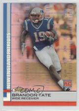 2009 Topps Finest Red Refractor 97 Brandon Tate New England Patriots Rookie Card