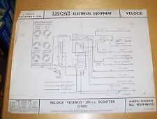 used 250 cc scooters zeppy io veloce viceroy 250cc scooter 1960 lucas wiring diagram nov 1960
