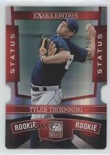 2010 Donruss Elite Extra Edition Status Red Die-Cut #156 Tyler Thornburg Card