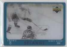 1997-98 Upper Deck Diamond Vision Signature Moves #S16 Teemu Selanne Hockey Card