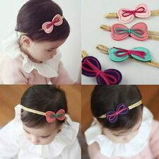 Cute Baby Kids Girls Infant Toddler Bowknot Headband Bow Headwear Hair Band