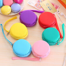 New Women Cute Purse Macaron Silicone Waterproof Wallet Pouch Coin Bag lovely