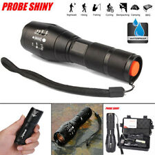 5000LM Zoomable 5Modes CREE XM-L T6 LED 18650 Rechargeable Flashlight Torch Lamp