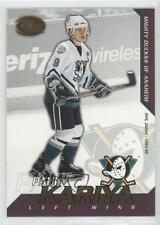 2002 Pacific Calder 30 Paul Kariya Anaheim Ducks (Mighty of Anaheim) Hockey Card