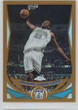 2004-05 Topps Chrome Gold Refractor #85 Jamaal Magloire New Orleans Hornets Card