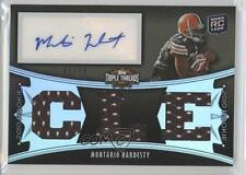 2010 Topps Triple Threads Sepia #117 Montario Hardesty Cleveland Browns Card