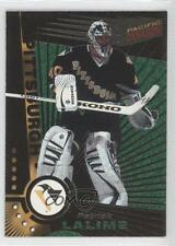 1997-98 Pacific Dynagon Steel 103 Patrick Lalime Pittsburgh Penguins Hockey Card