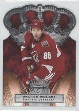 2010-11 Panini Crown Royale #74 Wojtek Wolski Phoenix Coyotes Hockey Card