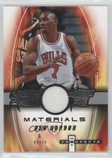 2006-07 Fleer Hot Prospects Materials #HM-BG Ben Gordon Chicago Bulls Card