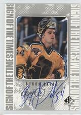 1998-99 SP Authentic Sign of the Times #BD Byron Dafoe Boston Bruins Auto Card