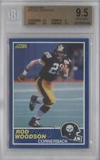 1989 Score #78 Rod Woodson BGS 9.5 Pittsburgh Steelers RC Rookie Football Card