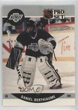 1990-91 Pro Set #454 Daniel Berthiaume Los Angeles Kings Hockey Card