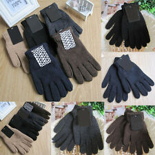 Insulated Unisex Gloves Knitted Warm Winter Gloves Thermal Insulation Men Women