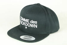 COMME des FUCKDOWN Snapback - black - Hat - Clip closure + new +