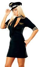 MILE HIGH CAPTAIN-Costume PILOT SEXY ADULT DRESS HALLOWEEN WOMEN NEW SIZE OUTFIT