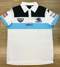 73628 CRONULLA SHARKS 2016 NRL PREMIERS MENS ADULT POLO SHIRT GRAND FINAL