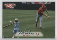 1998 Fleer Sports Illustrated Then & Now #130 Curt Schilling Baseball Card