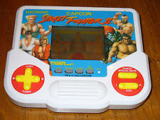Capcom Street Fighter II LCD Hand-Held Game by Tiger Electronics