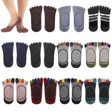Footful Women's Cotton Five Toes Fingers Sock Invisible Ankle Low out Socks