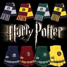 Harry Potter Costume Wool Knit Scarf Hat Gryffindor Thicken Warm Scarf Boy Gifts