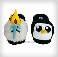 Adventure Time with Finn & Jake Ice King Gunter Adult plush Slippers House Shoes