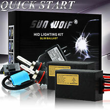 Xenon HID Conversion Kit 35W AC Quick Start Fast Bright H/L Head Lights Bulbs
