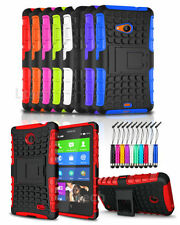 Apple iPhone 4 / 4S Shockproof Heavy Duty Tough Case Cover with Stand & Mini Pen