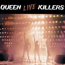 Live Killers by Queen (CD, Oct-1991, 2 Discs, Hollywood)