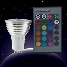 New Pro 5W E27 Multi Color Change RGB LED Light Bulb Lamp with Remote Control FE