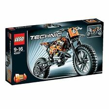 Retired LEGO Technic Set 42007 MotoCross Bike New in Sealed Box - Free Shipping