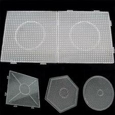 Large Pegboards for Perler Bead Hama Fuse Beads Clear Square Design Board US