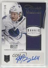 2013 Panini Rookie Anthology #186 Morgan Rielly Toronto Maple Leafs Hockey Card