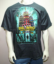 DR DOCTOR WHO and the DALEKS POSTER DALEK ROBOT TARDIS MENS T-Shirt Tee XL-3X