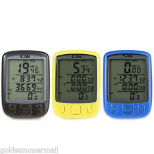 SunDing SD - 563B Outdoor Multifunction Water Resistant Cycling Odometer LCD