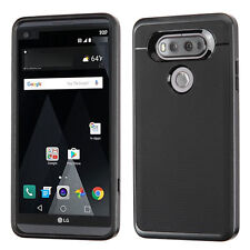 For LG V20 Case Hybrid Impact Skin Cover+Stylus&Screen Protector&Wall Charger