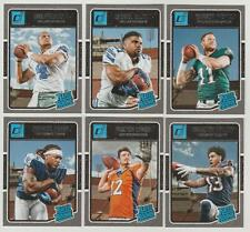 2016 Donruss Football Singles #201-400 - Finish Your Set - WE COMBINE S/H