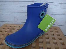 Crocs Wellies Boots Size W9 (size 40 - 41) Blue New