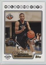 2008 Topps Gold Foil 199 Russell Westbrook Oklahoma City Thunder Basketball Card