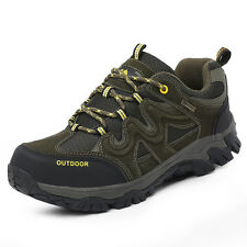 GOMNEAR big size men trail hiking shoes athletic non slip climbing outdoor shoes