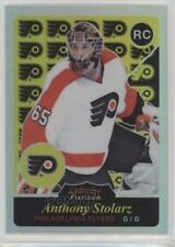 2015 O-Pee-Chee Platinum Retro Rainbow #R86 Anthony Stolarz Philadelphia Flyers