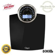 Bathroom Digital Electronic Body Weight Glass Scale LCD Health Fitness Max 400lb
