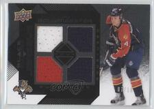 2008-09 Upper Deck Black Diamond Quad Jerseys Onyx #BDJ-JB Jay Bouwmeester Card