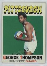 1971-72 Topps #202 George Thompson Pittsburgh Condors (ABA) RC Basketball Card