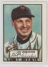 1983 Topps 1952 Reprint Series #315 Leo Durocher New York Giants Baseball Card